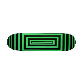black & green skateboard
