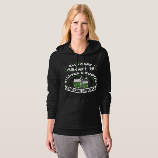 Black Green SMoothie Hoodie