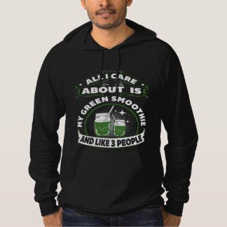 Black Green Smoothie Hoodie