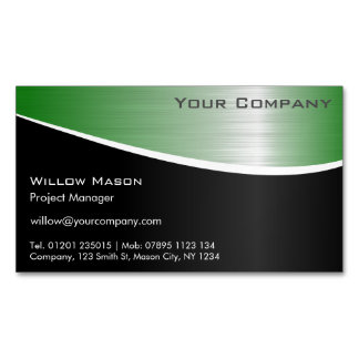 Magnetic Business Cards & Templates | Zazzle