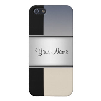 Black grey Abstract 4s  Case For iPhone SE/5/5s