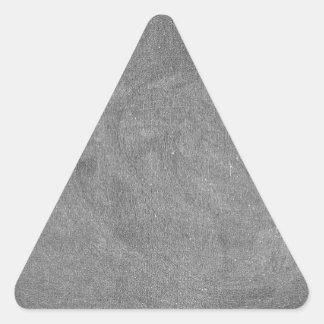 Black Grey Chalkboard Blackboard Background Triangle Sticker