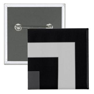 Black/Grey Color Corner (MB) Pinback Buttons