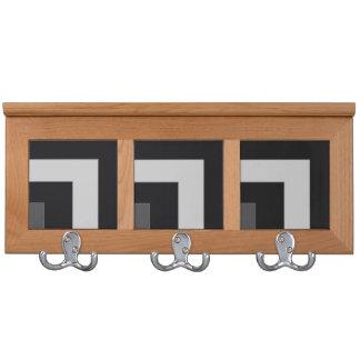 Black/Grey Color Corner (MB) Coat Rack