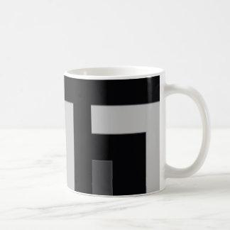 Black/Grey Color Corner (MB) Coffee Mug