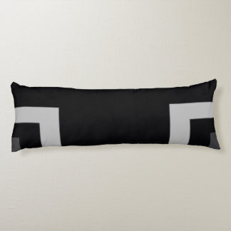 Black/Grey Color Corner (MB) Body Pillow