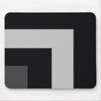 Black/Grey Color Corner (MB) Mouse Pad