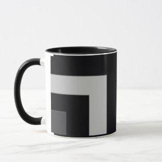 Black/Grey Color Corner (MB) Mug