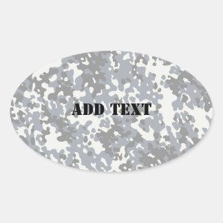 Black & Grey Digital City Camouflage (Lightened) Stickers