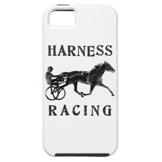 Black Grey Harness Horse Silhouette iPhone SE/5/5s Case