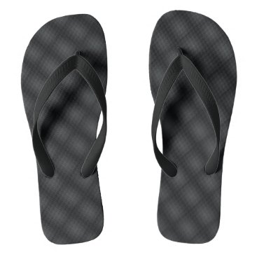 Beach Themed Black Grey Summer Beach Flip-Flops Flip Flops
