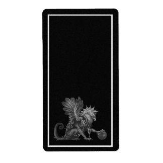 Black Griffon Apothecary Label
