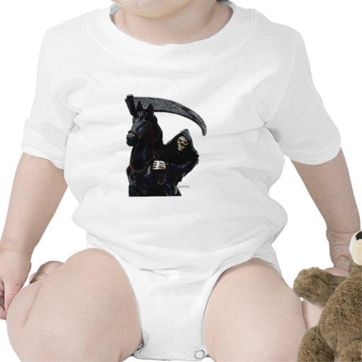 Black Grim Reaper Horseman by Valpyra Baby Creeper