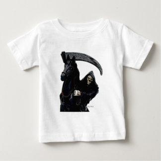 Black Grim Reaper Horseman by Valpyra Baby T-Shirt