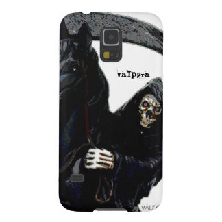 Black Grim Reaper Horseman by Valpyra Cases For Galaxy S5