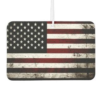 Black Grunge American Flag