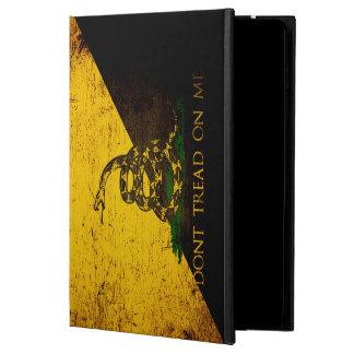 Black Grunge Anarcho Gadsden Flag Powis iPad Air 2 Case