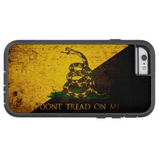 Black Grunge Anarcho Gadsden Flag Tough Xtreme iPhone 6 Case