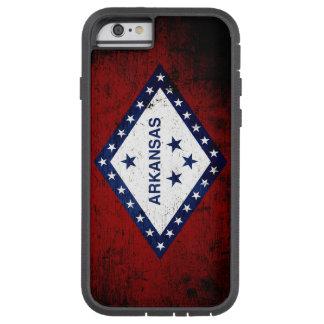 Black Grunge Arkansas State Flag Tough Xtreme iPhone 6 Case