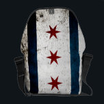 "Black Grunge Chicago Flag Messenger Bag<br><div class=""desc"">Black Grunge Chicago Flag. Feel free to modify the design according to your own preferences. You may change the design location, orientation, background colors and size. Also, you may add your own text, or slogan set its font, location and size, all in order to create the ultimate personal gift for...</div>"