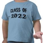 Black Grunge Class of 2022 Shirt
