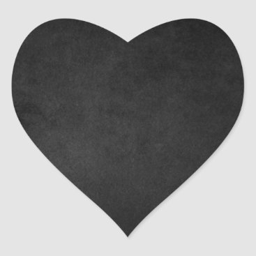 Halloween Themed Black Grunge Emo Heart Stickers