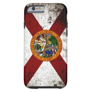 Black Grunge Florida State Flag Tough iPhone 6 Case