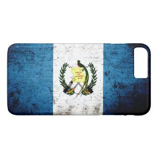 Black Grunge Guatemala Flag iPhone 7 Plus Case