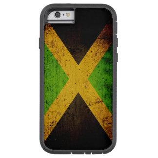 Black Grunge Jamaica Flag Tough Xtreme iPhone 6 Case