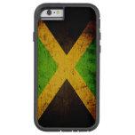 Black Grunge Jamaica Flag iPhone 6 Case