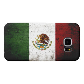 Black Grunge Mexico Flag Samsung Galaxy S6 Case