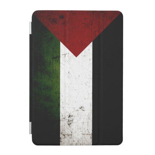 Black Grunge Palestine Flag iPad Mini Cover