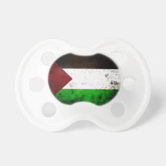 Black Grunge Palestine Flag Pacifier