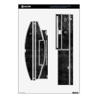 Black Grunge PS3 Skin