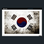 "Black Grunge South Korea Flag Skin For 17&quot; Laptop<br><div class=""desc"">Black Grunge South Korea Flag. Feel free to modify the design according to your own preferences. You may change the design location, orientation, background colors and size. Also, you may add your own text, or slogan set its font, location and size, all in order to create the ultimate personal gift...</div>"