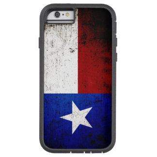 Black Grunge Texas State Flag Tough Xtreme iPhone 6 Case