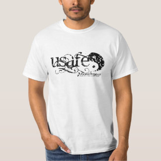 Black Grunge-USafe? T-Shirt