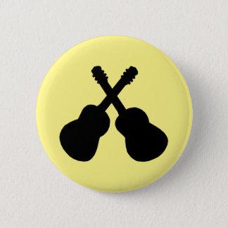 black guitars pinback button