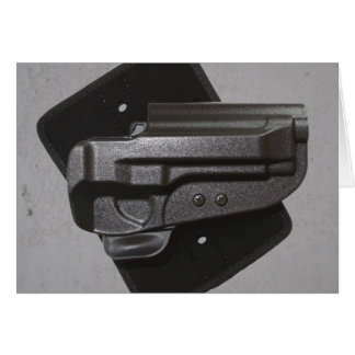 Black Gun / Firearm Holster Card