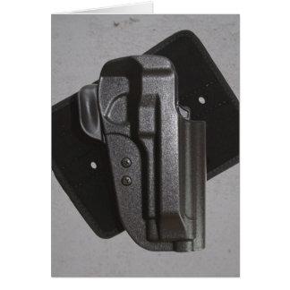 Black Gun / Firearm Holster Card