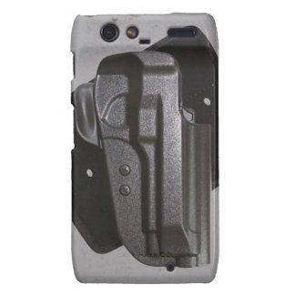 Black Gun / Firearm Holster Droid RAZR Cases