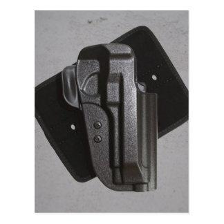 Black Gun / Firearm Holster Postcard