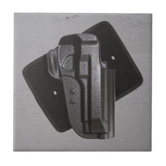 Black Gun / Firearm Holster Tile