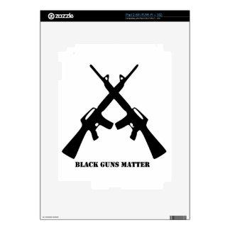 Black Guns Matter Skin For The iPad 2