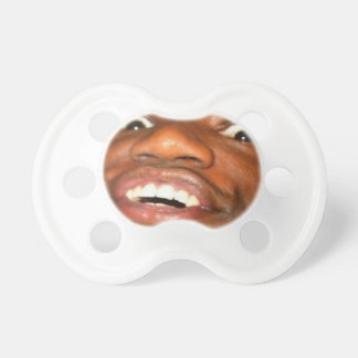 Black guy pacifier