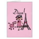 Black Hair Diva Card
