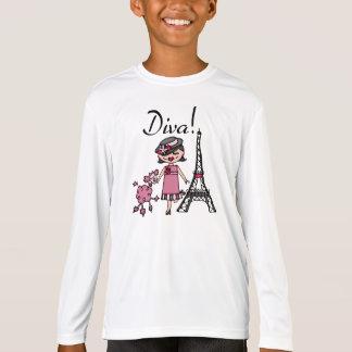 Black Hair Diva T-Shirt