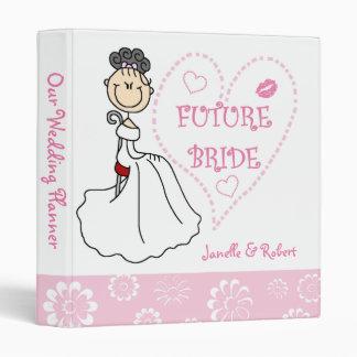 Black Hair Future Bride Wedding Planner Binder