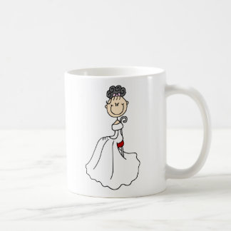 Black Haired Bride Mug