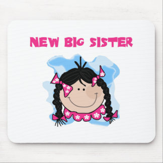 Black Haired Girl New Big Sister Mouse Pad